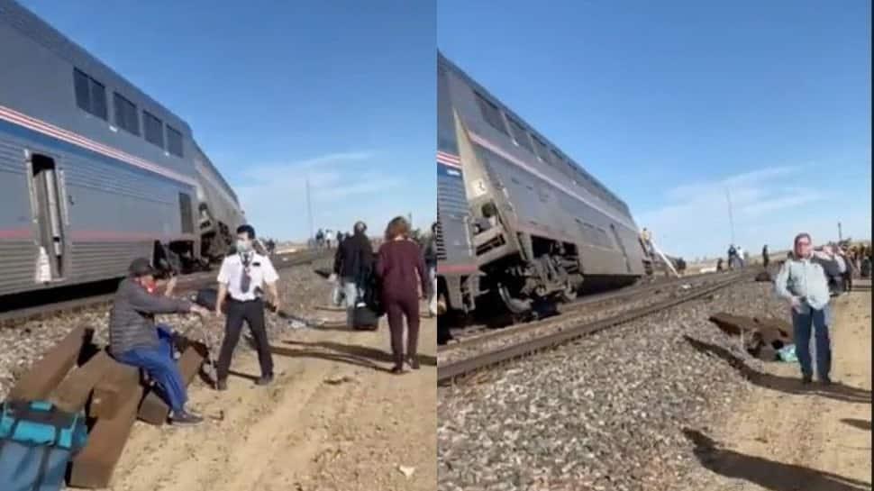 Three killed, several injured after Amtrak train derails in US