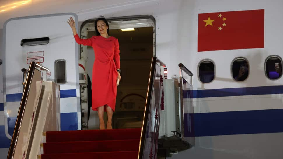 Huawei's Meng Wanzhou arrives in China ending 3 years of US extradition fight