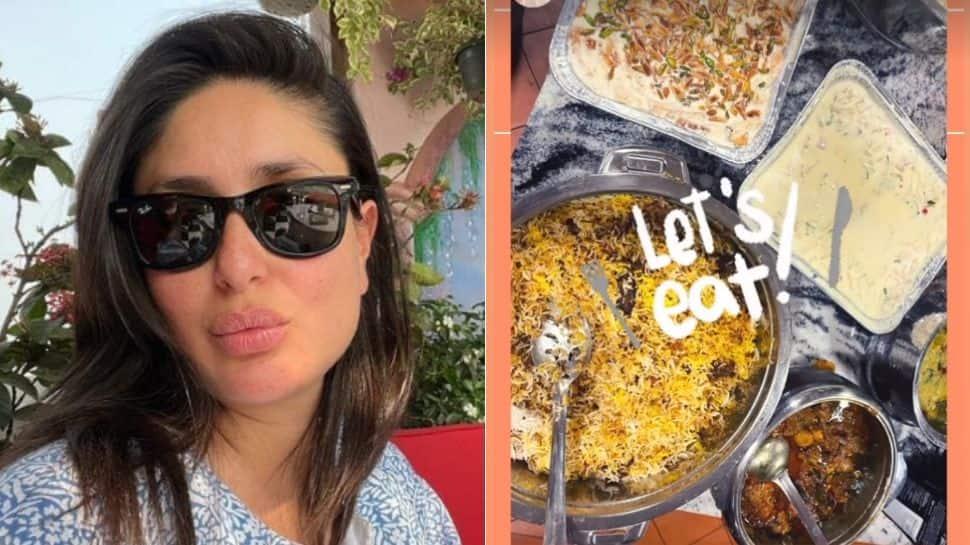 Kareena Kapoor enjoys scrumptious biryani sent by Bahubali aka Prabhas, thanks him for 'insane meal'