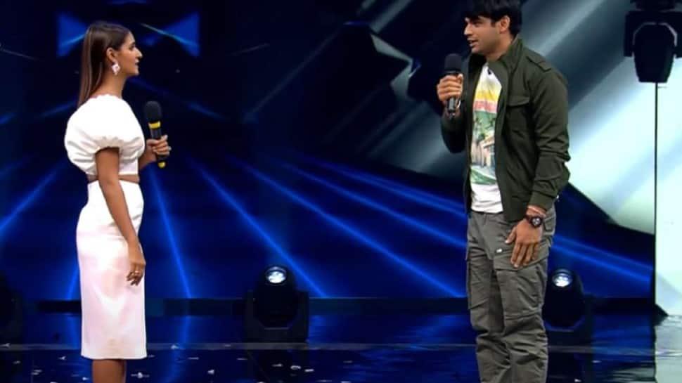 Neeraj Chopra 'proposes' to Shakti Mohan on dance show, disheartened Raghav Juyal says 'galat jagah javelin phenka' - WATCH