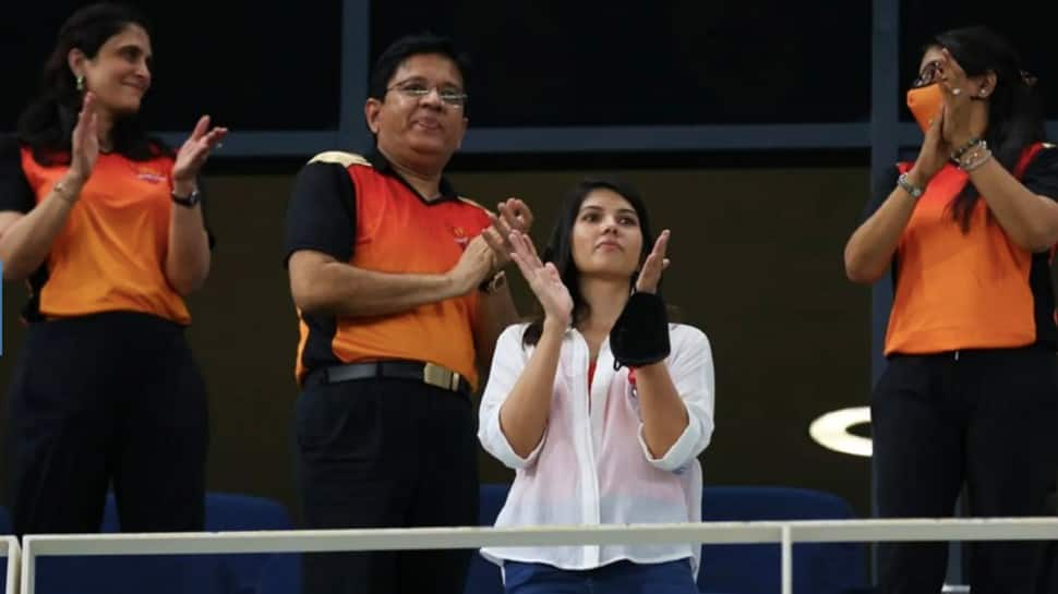 IPL 2021: SRH 'mystery girl' Kaviya Maran delighted with team's win, fans say 'finally see her smiling after so long'