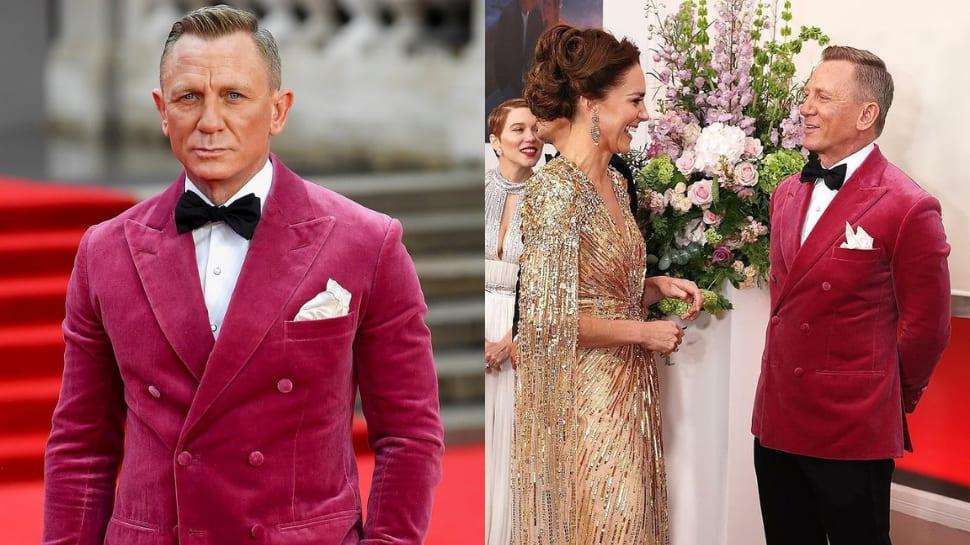 Bond is back: Daniel Craig's last 007 film 'No Time To Die' premieres in London
