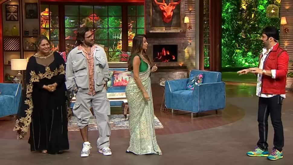 Malaika Arora calls Geeta Kapur 'besharam' on The Kapil Sharma Show |  Television News | Zee News