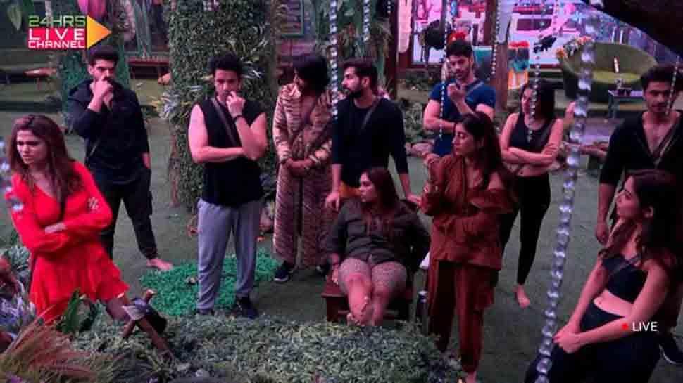 Bigg Boss 15 written updates: Tejasswi Prakash flirts with Bigg Boss, Afsana wants to kiss Shamita Shetty