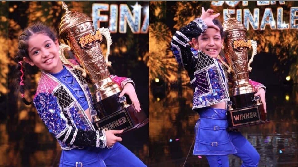 Florina Gogoi lifts Super Dancer Chapter 4 trophy and Rs 15 lakh