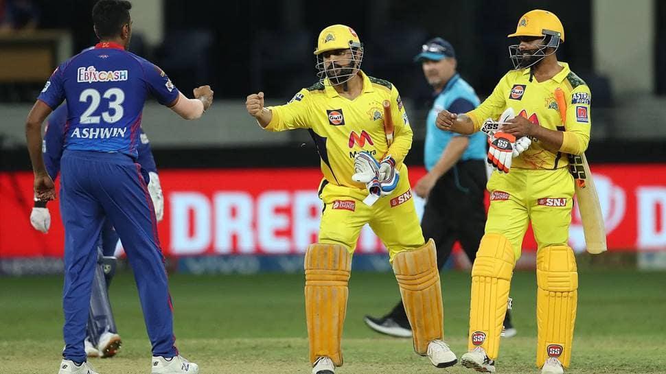MS Dhoni's Chennai Super Kings reach IPL 2021 finals, beat Delhi Capitals by four wickets thumbnail