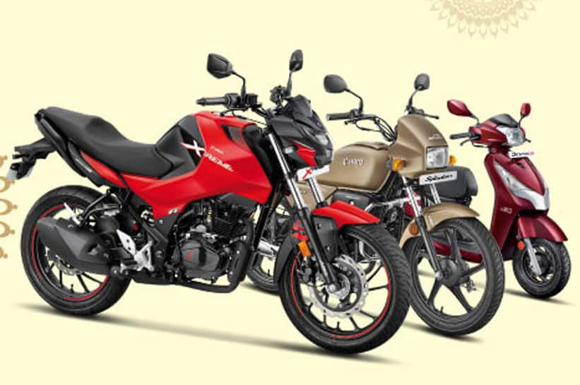 Hero's Dhamaka festive offer: Get benefits upto Rs 12,500 on buying motorcycles thumbnail