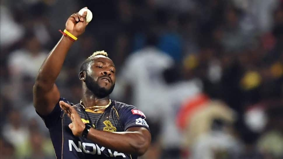KKR all-rounder Andre Russell (Source: Twitter)