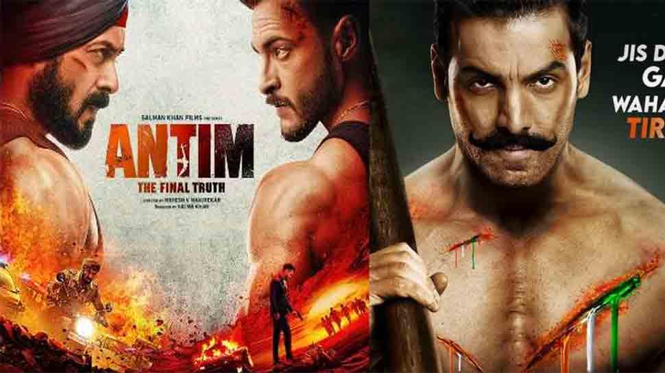 Salman Khan's Antim to lock horns with John Abraham's Satyamev Jayate 2 at Box Office this November? thumbnail