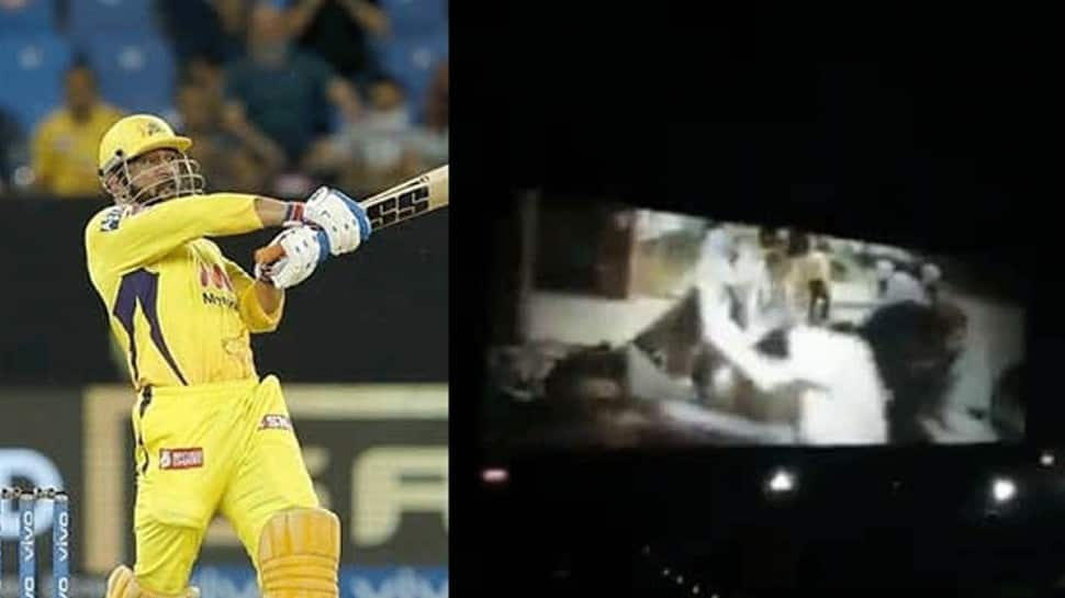 IPL 2021: Fans chant MS Dhoni's name in MOVIE HALL after CSK skipper's heroics against DC, video goes viral – WATCH thumbnail