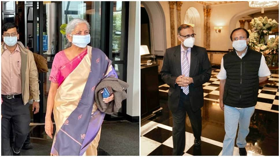 FM Nirmala Sitharaman, MOS Muraleedharan arrive in New York for official visits thumbnail
