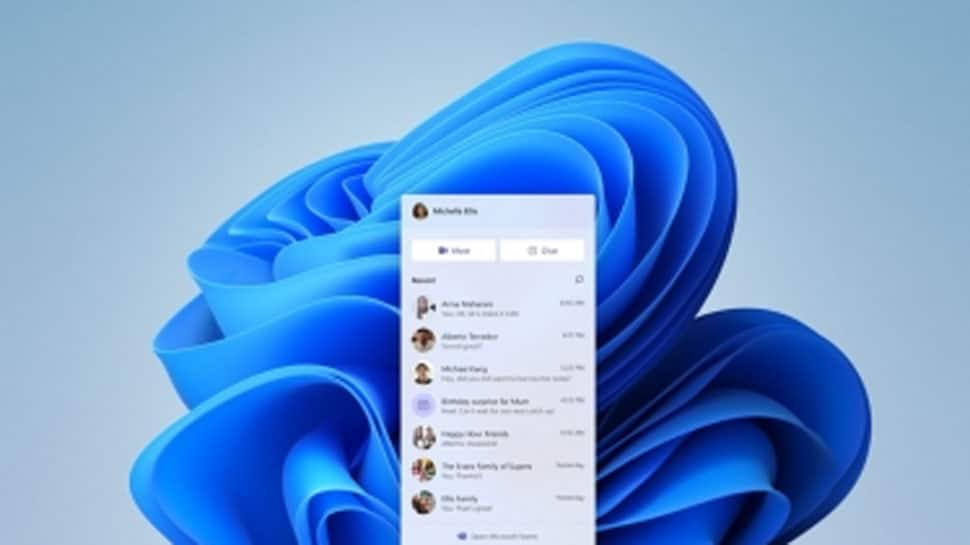 Now start personal chat from Microsoft Teams on Windows 11 thumbnail