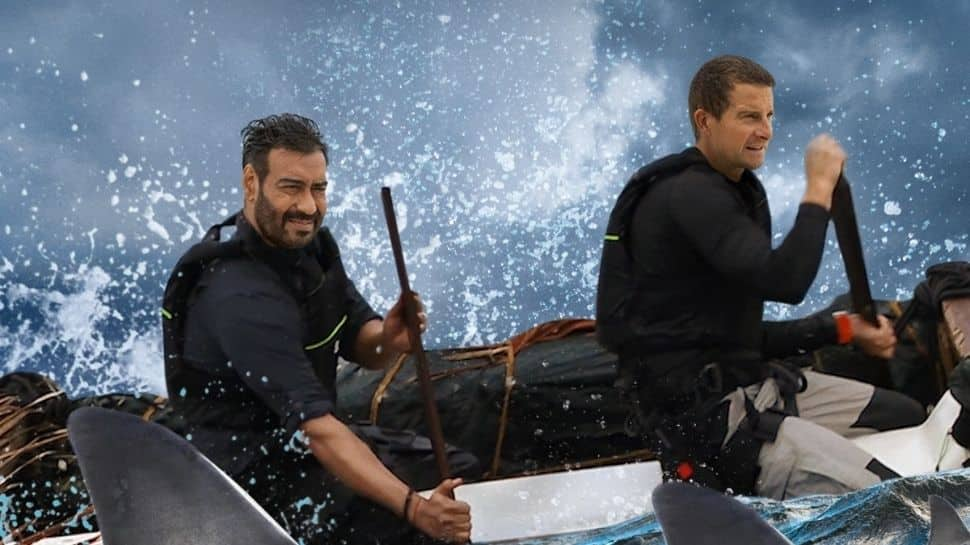 It was not child's play: Ajay Devgn on performing stunts in 'Into The Wild With Bear Grylls' thumbnail