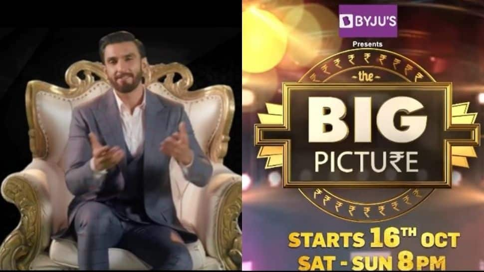 'The unpredictability of the format of 'The Big Picture' is really exciting': Ranveer Singh
