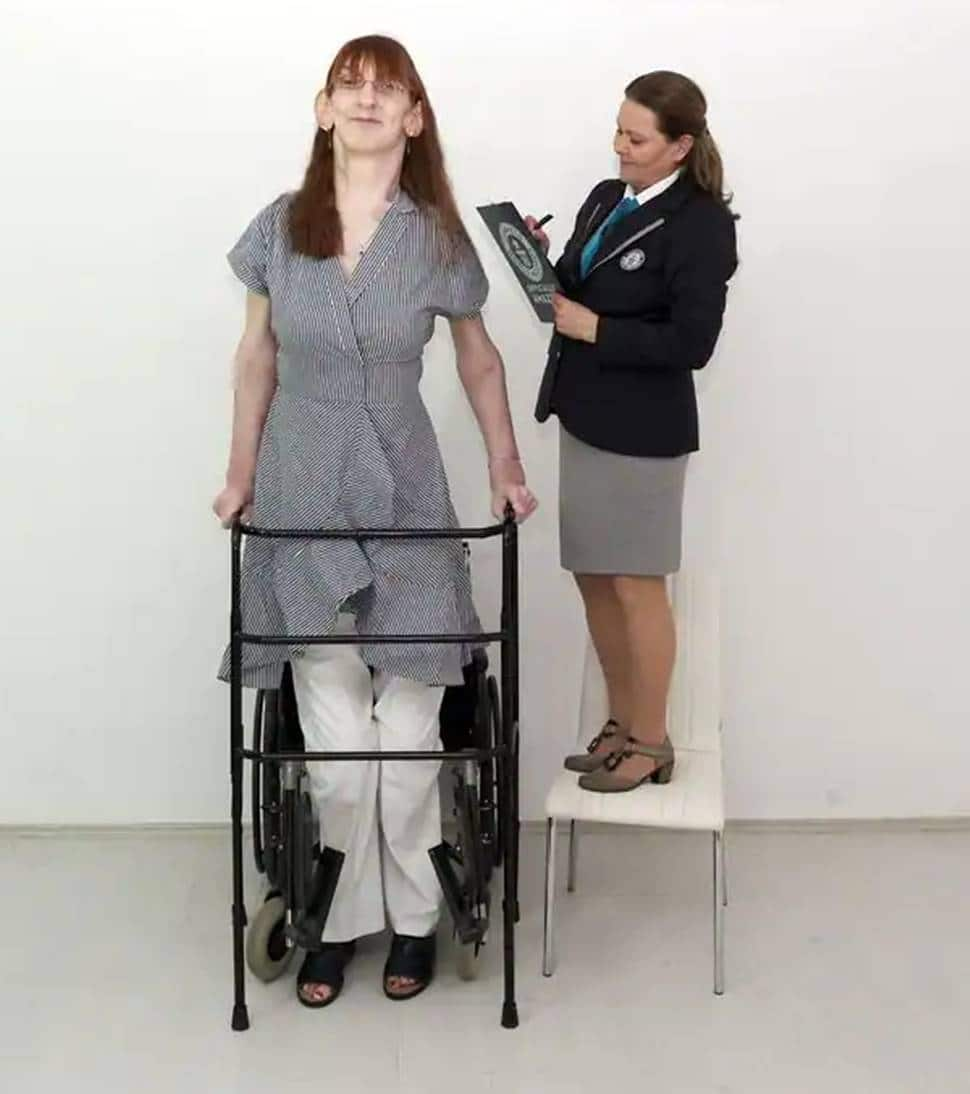 Record for tallest female in the world