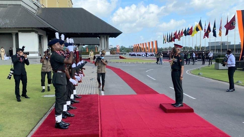 Gen Naravane received Guard of Honour