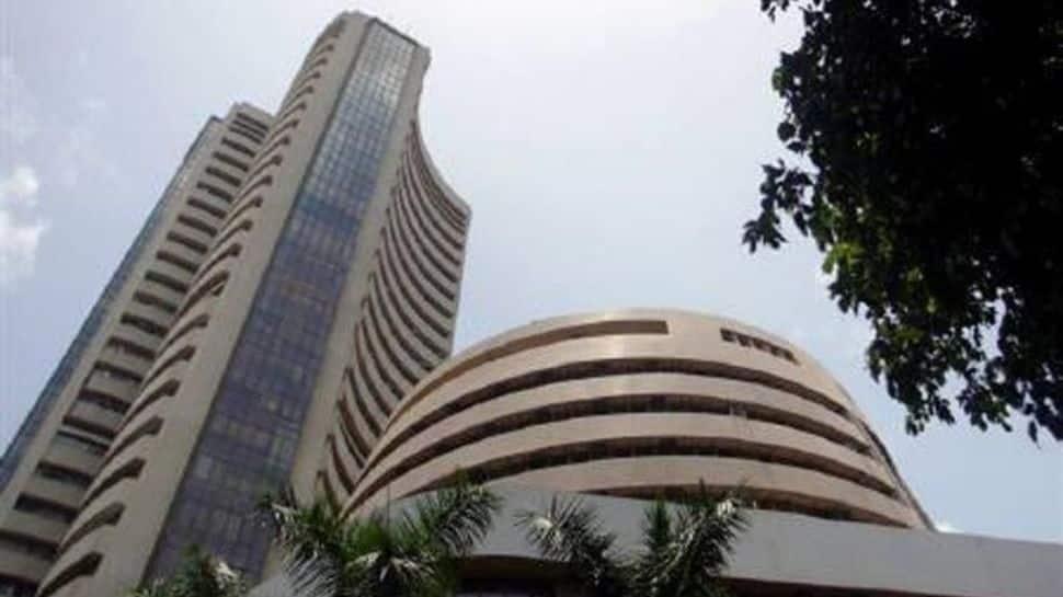 Sensex rallies 453 points to new peak, Nifty claims 18,100 level thumbnail
