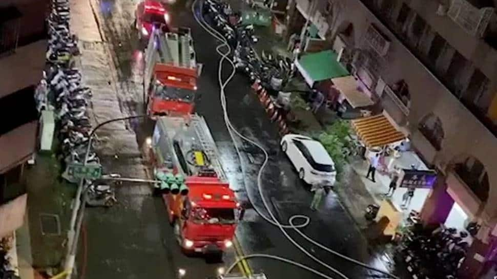 46 dead, scores injured in fire at southern Taiwan thumbnail