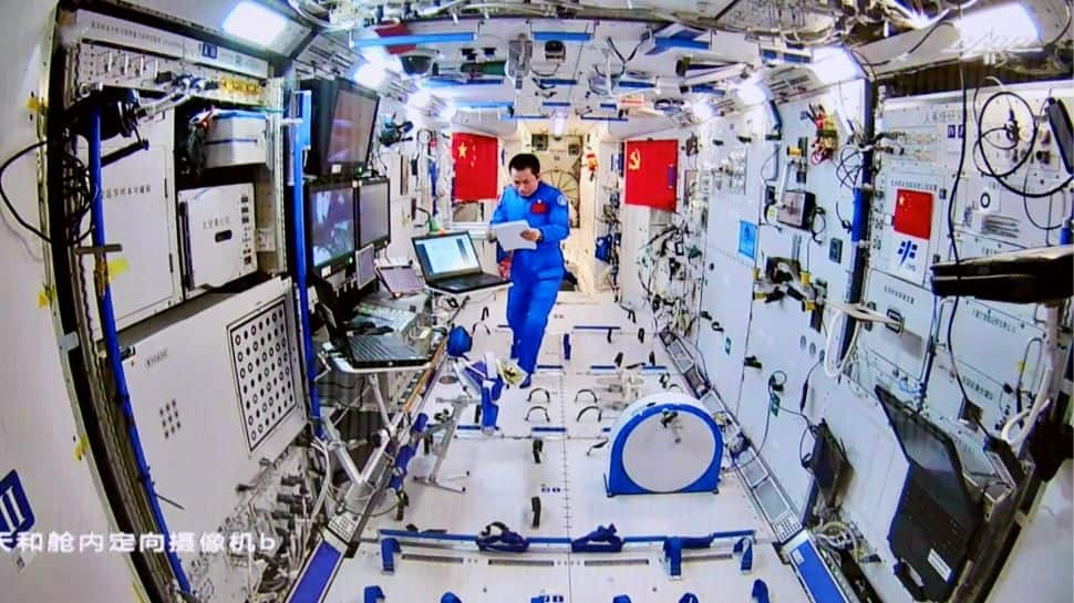 China all ready to send 3 astronauts on its longest-ever crewed space mission thumbnail