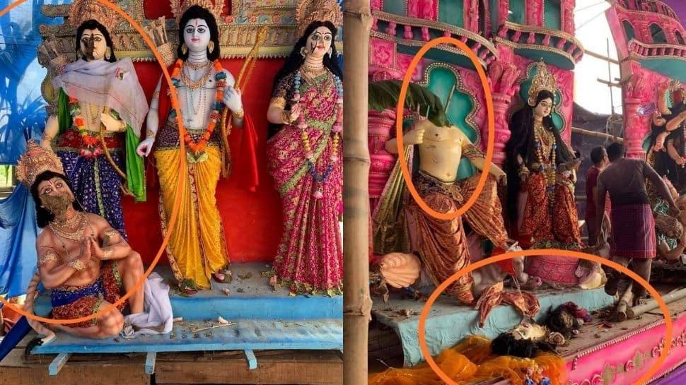 Communal violence during Durga Puja celebrations in Bangladesh; 3 killed, 60 injured