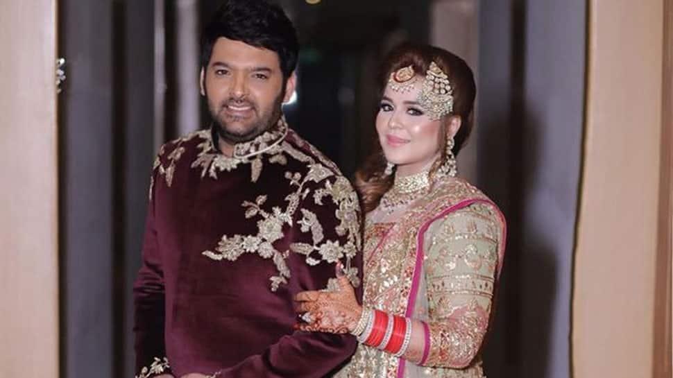 Kapil Sharma's wife Ginni Chatrath's first pap-video goes viral, says 'jane do bache akele hai ghar pe' – Watch