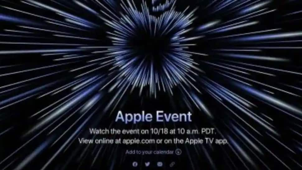 Apple event on October 18: M1X MacBook Pro, AirPods 3 to be launched. Details here