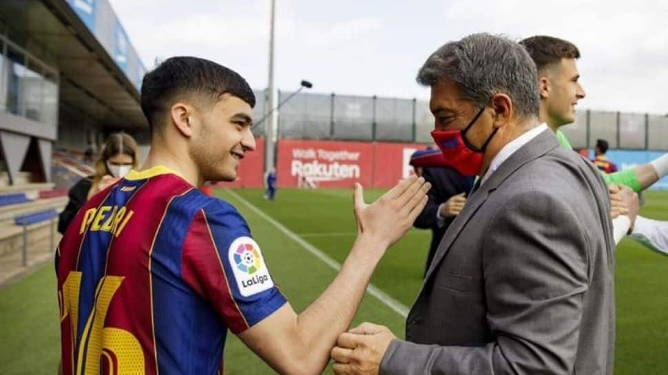 Pedri signs new deal with Barcelona with 1 billion euros release clause thumbnail