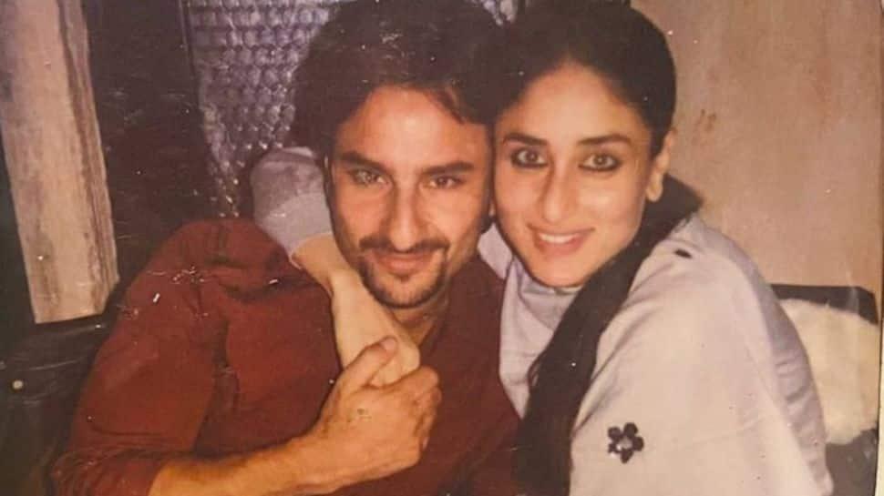 Mush alert! Kareena Kapoor dotes on Saif Ali Khan on wedding anniversary, shares unseen pic! thumbnail