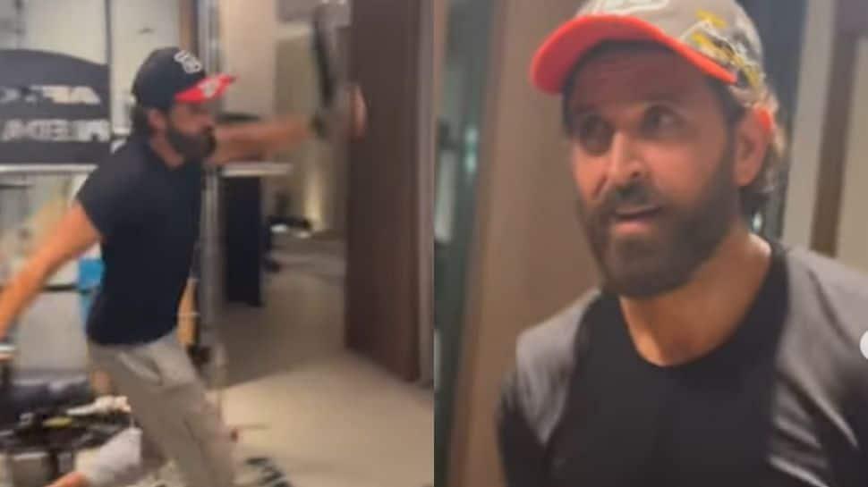 Deepika Padukone calls Hrithik Roshan a 'clown' as he dances to 80s songs during his gym sesh – Watch