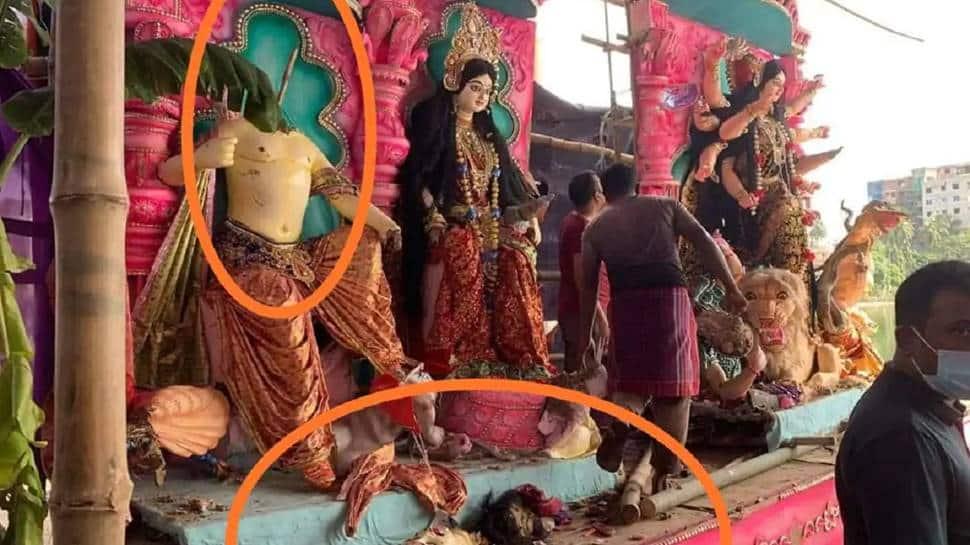 Four arrested in Bangladesh for vandalising idols at Hindu temple thumbnail