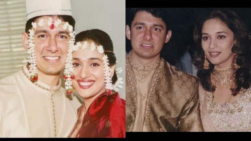 Madhuri Dixit Nene, Shriram Nene complete 22 years of marital bliss