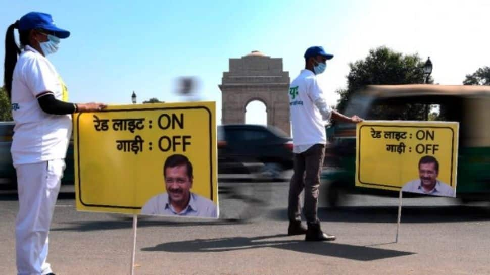 Delhi government to initiate 'Red Light on Gaadi Off' campaign from Oct 18 to curb air pollution thumbnail