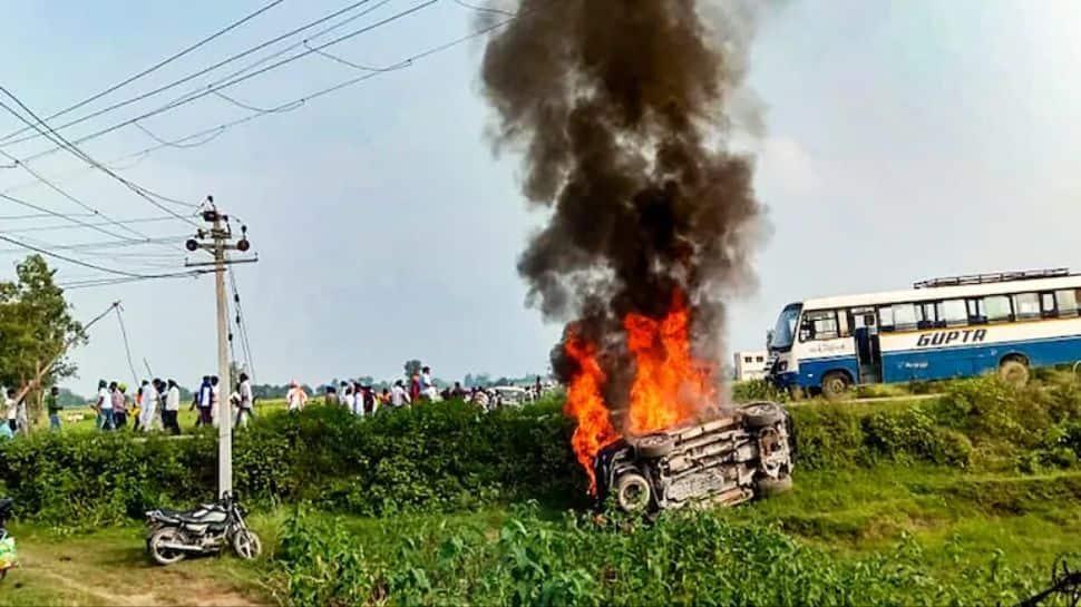 Lakhimpur Kheri incident: SKM to hold `Rail Roko` on October 18 to demand dismissal, arrest of Union Minister thumbnail