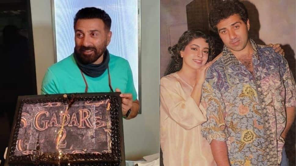 Here's how Ameesha Patel, Juhi Chawla wished Sunny Deol on his birthday