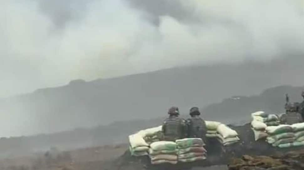 Indian soldiers demonstrate battle drill to destroy `enemy tank` in Arunachal - Watch thumbnail