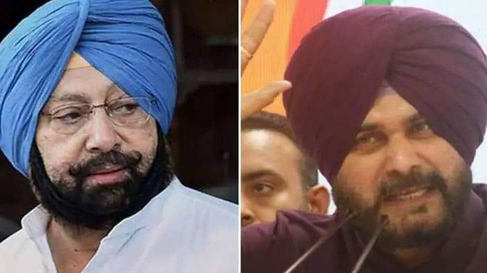 Navjot Singh Sidhu says Amarinder Singh `architect` of farm laws, former CM calls ex-cricketer `fraud` thumbnail