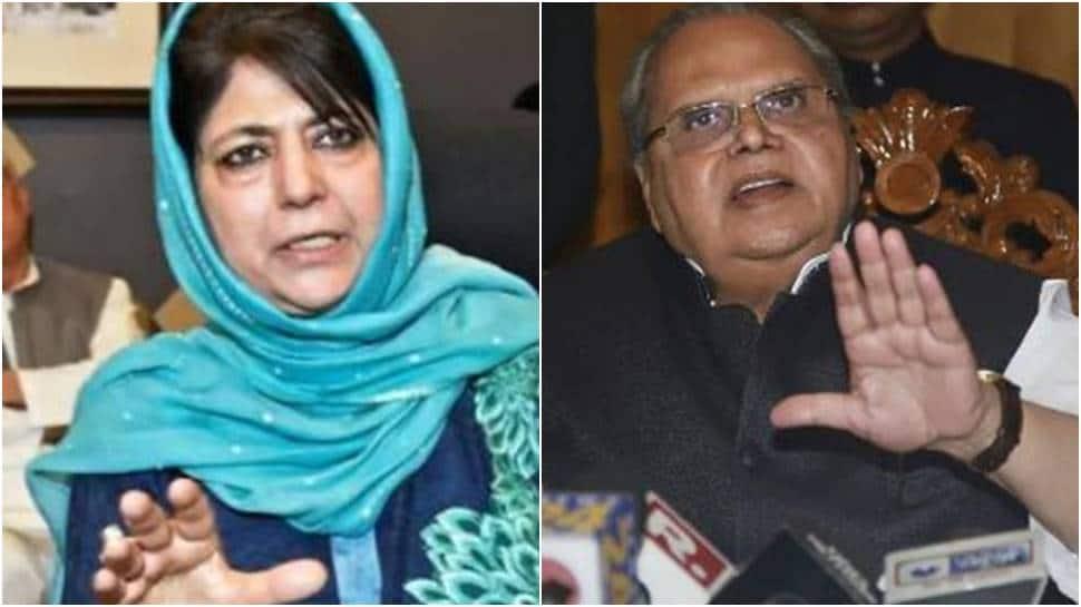 PDP sends legal notice to former J&K governor Satya Pal Malik for `defamatory` remarks against Mehbooba Mufti thumbnail