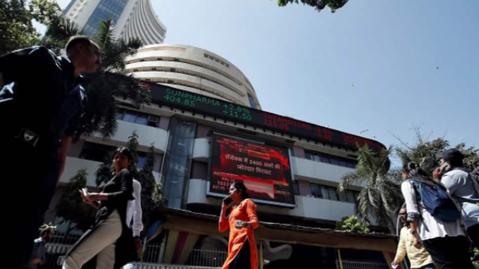 Sensex falls 102 points, Nifty tests 18,100 thumbnail