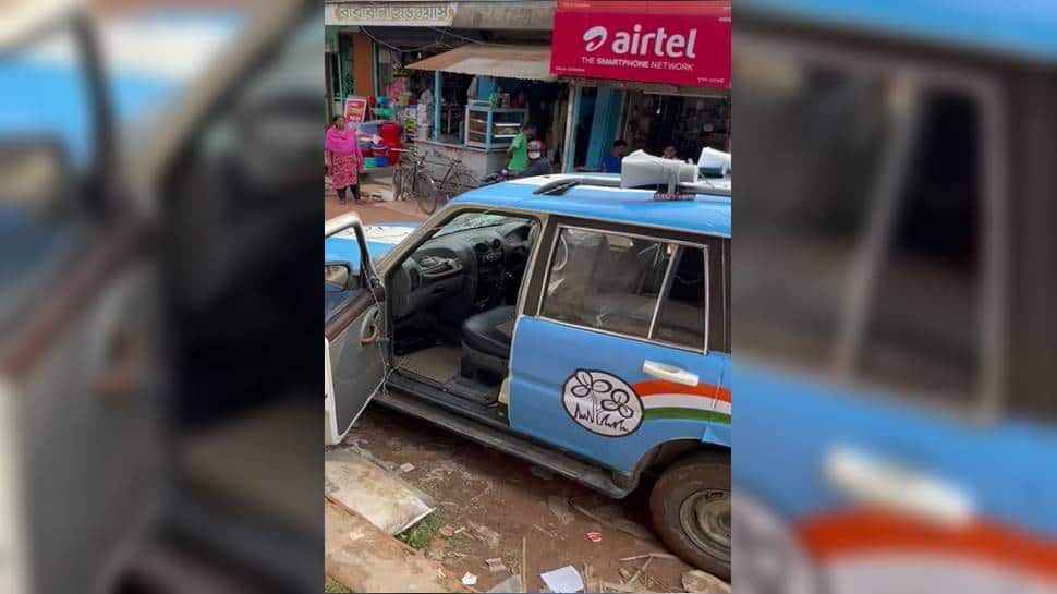 Trinamool MP Sushmita Dev`s car attacked in Tripura, party accuses BJP thumbnail