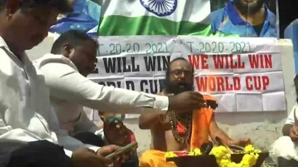 Ahead of India vs Pakistan T20 World Cup clash, fans perform 'HAVAN' in Bengaluru thumbnail