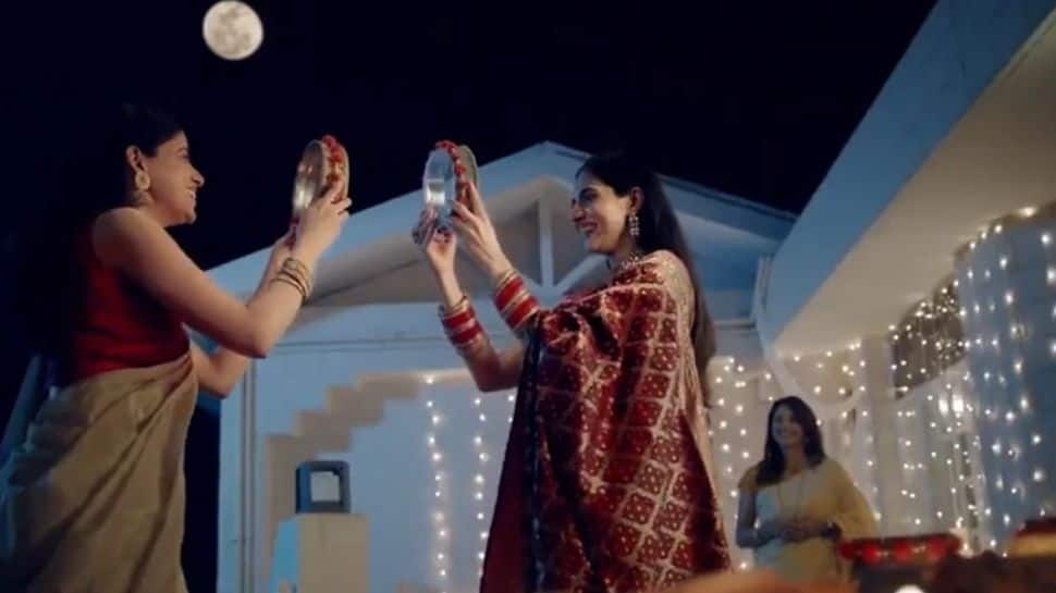 Dabur's new ad on Karwa Chauth featuring same-sex couple sparks controversy on social media- Watch thumbnail