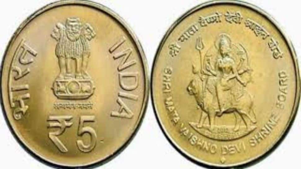 Own a Rs 5, Rs 10 Mata Vaishno Devi coin? Get up to Rs 10 lakh by selling it online, check how thumbnail