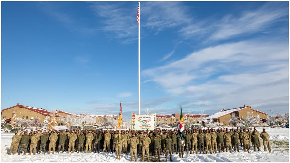 Indian, US troops carry out joint training exercise, yoga session in Alaska - Watch thumbnail
