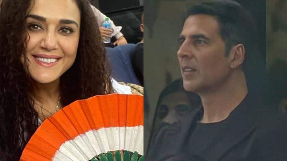 Akshay Kumar, Preity Zinta in attendance at Ind Vs Pak T20 WC thumbnail