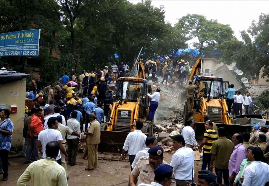 Teams of the state disaster management force, have rushed to the site