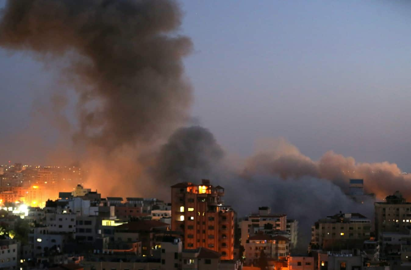 Clashes-in-Palestinians-Gaza-Israel