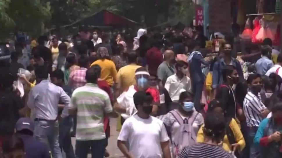 Delhi Markets amid COVID-19 pandemic