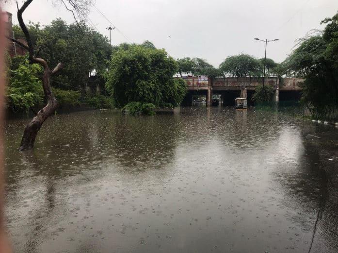 Delhi rains, Gautam Gambhir