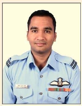 Flight Lieutenant MK Garg