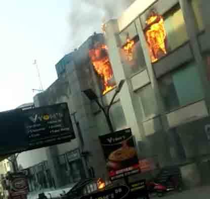 Ghaziabad fire mall